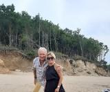 Impreza urodzinowa uczestników Sanatorium Miłości w Niepołomicach. Iwona i Gerard z Sanatorium Miłości są na wakacjach nad morzem 22.07.2021