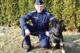 Funkcjonariuszka policji na czterech łapach. Nowa policjantka w Łasku ZDJĘCIA