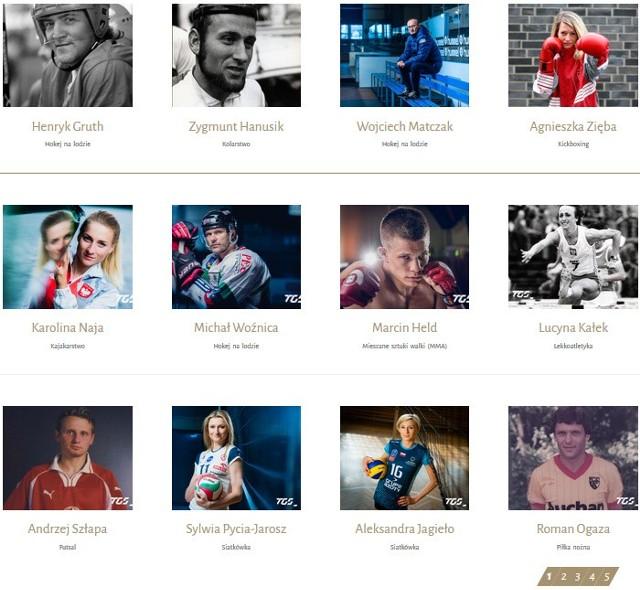 """W galerii """"Tyskie sławy"""" znajdziecie biogramy 60 sportowców i trenerów związanych z tym miastem"""
