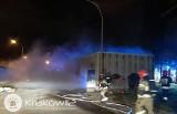 Kraków. Pożar w szpitalu im. L. Rydygiera. Sprawę bada policja [ZDJĘCIA]