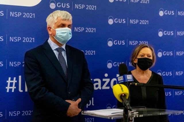 Wojewoda podlaski Bohdan Paszkowski i Ewa Kamińska-Gawryluk, dyrektor Urzędu Statystycznego w Białymstoku apelowali o jak najszybsze wypełnienie internetowego formularza spisowego