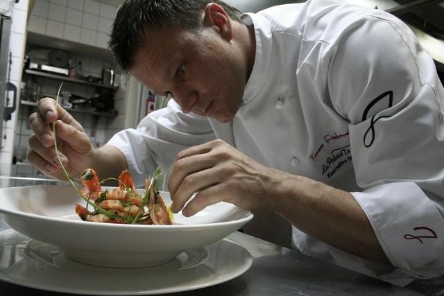 Tomasz Fiedorowicz, szef kuchni Restauracji Le Palais du Jardin