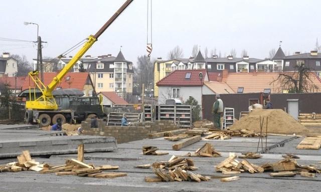 Trwa już budowa nowych bloków TBS przy ul. Narutowicza.
