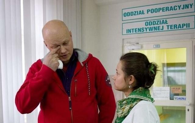 Rodzice Bolka mają żal do lekarzy z UDSK w Białymstoku, którzy dwukrotnie nie przyjęli dziecka na oddział