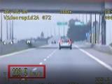 Kierowca pędził jak szalony 223 km/h na drodze Racibórz - Pszczyna. 3534 mandatów za nadmierną prędkość na śląskich drogach w sierpniu