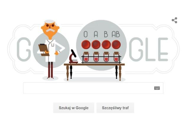 Kim był Karl Landsteiner, czyli bohater Google Doodle z 14 czerwca 2016?