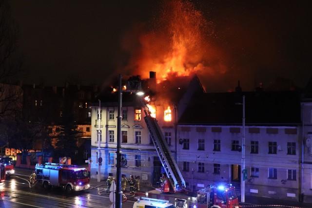 Pożar mieszkania przy ul. Hubskiej
