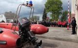Strażacy świętują! Łódź otrzymali druhowie z OSP Wielki Wełcz w gminie Grudziądz [zdjęcia]
