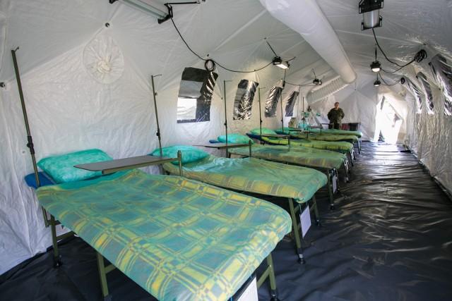We Wrocławiu swój szpital polowy postawi dziś także wojsko