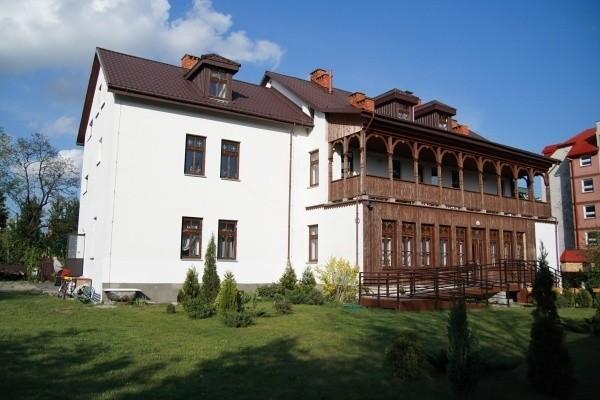 Budynek hospicjum przy ulicy Sobieskiego w Białymstoku