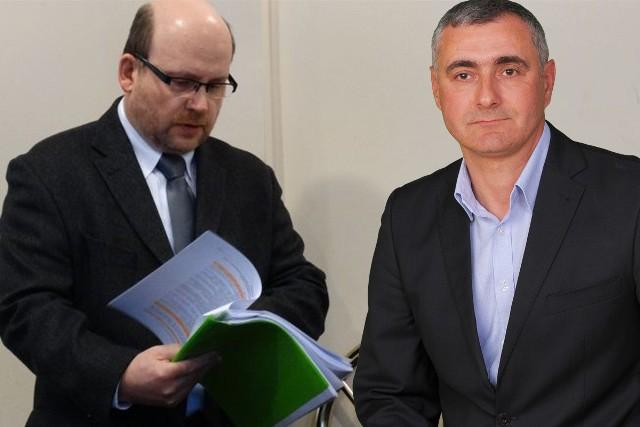 Robert Pyryt (z lewej) został powołany na stanowisko prezesa. Obok Michał Golbert nowy członek Zarządu spółki.