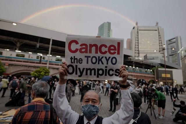 Japończycy protestują przeciwko igrzyskom