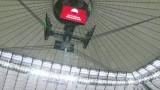 Mecz Polska - Czarnogóra pod zasuniętym dachem