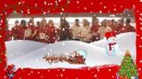 Piłkarze Widzewa w wesołym nastroju śpiewają świąteczne piosenki
