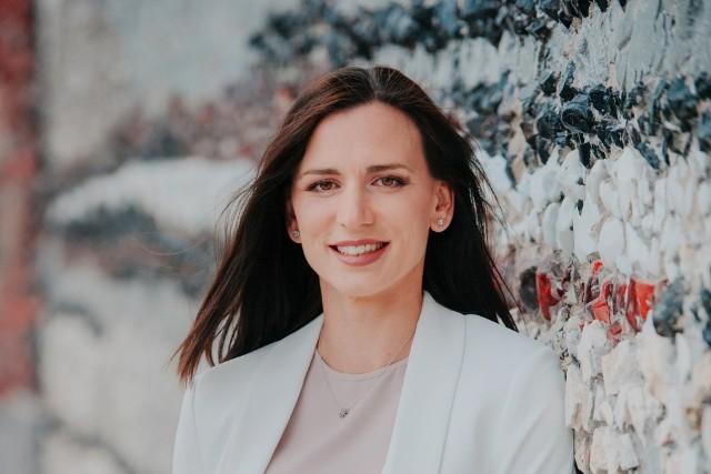 Na zdjęciu: Danusia Miarka, konsultantka ślubna (wedding planner) w Ślubnym Impresariacie