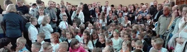 Sosnowiec: rozpoczęcie roku szkolnego w Szkole Podstawowej nr 10, 4 września 2017