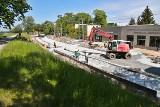 Nowa pętla tramwajowa na Osobowicach nabiera kształtu (ZDJĘCIA)