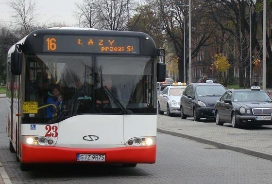 Wypożyczony autobus z Jastrzębia Zdroju