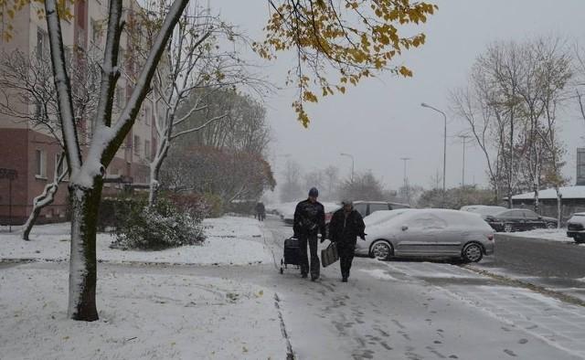 Pierwsze opady śniegu nie zapowiadają się w Łodzi obficie. Tak było w 2012 r., gdy śnieg spadł w Łodzi już 12 listopada.