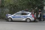 Wrocław: Zderzenie radiowozu z polonezem na skrzyżowaniu Kościuszki i Krakowskiej