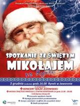 Święty Mikołaj Jaworzno: oświecenie choinki na rynku, Majka Jeżowska i żywe renifery