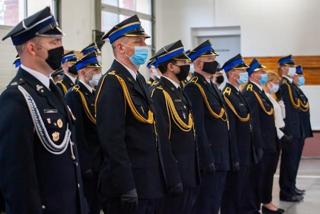 Promesy dla jednostek w Kujawsko-Pomorskiem przekazane w Bydgoszczy - zdjęcia.