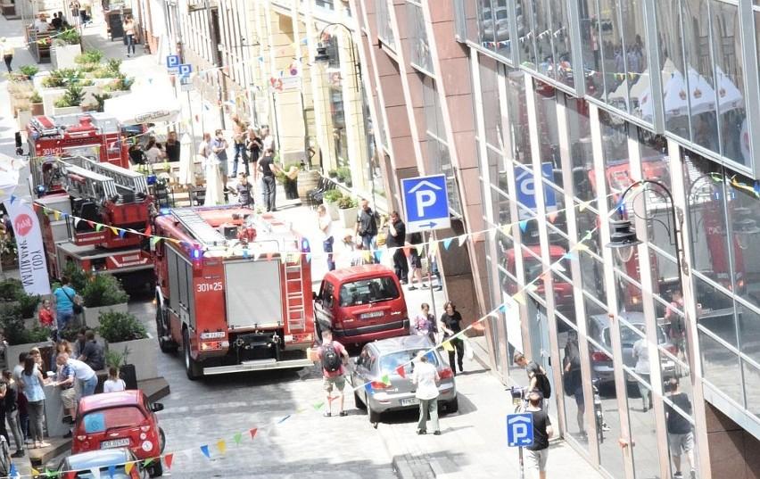 Wrocław: Akcja strażaków w centrum. Cztery wozy na św. Antoniego