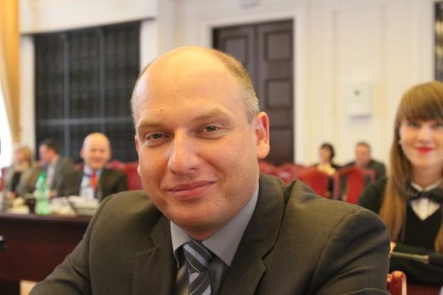 Łukasz Magin to nieformalny przywódca radnych wyrzuconych z PO