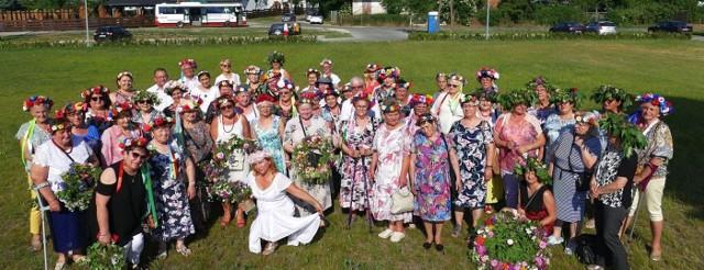 Atmosfera podczas świętojańskiego spotkania seniorów w Łojewie (gm. Inowrocław) była wspaniała!