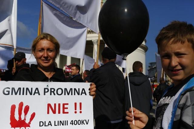We wrześniu mieszkańcy północnych powiatów regionu oraz gmin okołowarszawskich zorganizowali Czarny Protest w Warszawie.