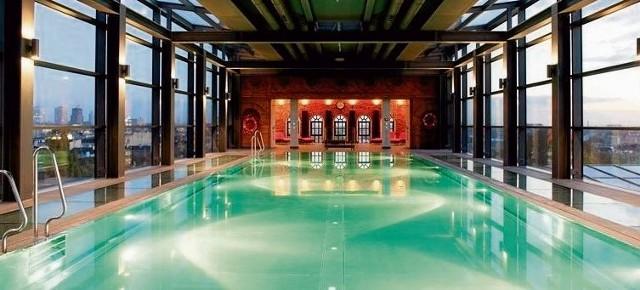 Tak ma wyglądać basen w Royal Hotel & SPA w Białymstoku. Ściana, przy której go ustawiono, będzie przeszklona.