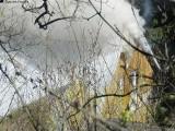 Pożar domu w Karpaczu Dolnym [ZDJĘCIA]