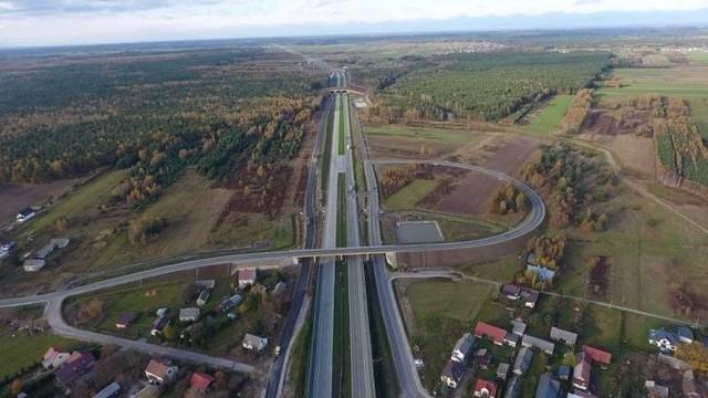 Kierowcy wjechali na 13-kilometrowy fragment trasy S17 od końca obwodnicy Kołbieli do początku obwodnicy Garwolina pod koniec grudnia