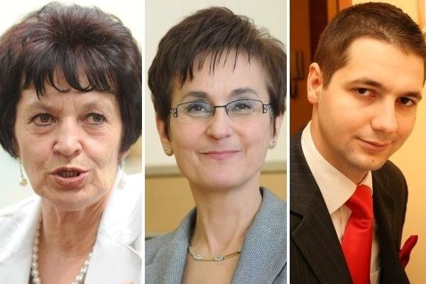 Posłowie: Brygida Kolenda Łabuś, Janina Okrągły (PO) oraz Patryk Jaki (SP).