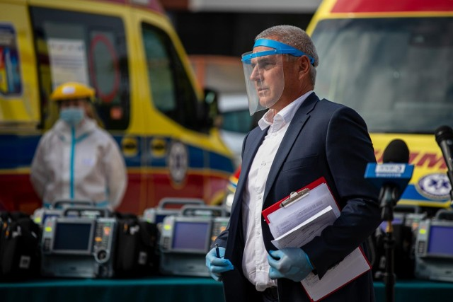 Ratownicy kontraktowi w większości nie podpisali nowych kontraktów. Jaki plan ma dyrektor białostockiej stacji Bogdan Kalicki?
