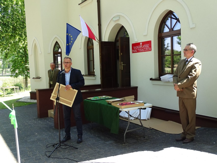 Uroczyste otwarcie nowej siedziby Nadgoplańskiego Parku Tysiąclecia w Kruszwicy [zdjęcia]