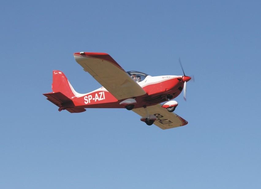 SportStar RTC SP AZI to pierwszy samolot w Aeroklubie Ziemi Jarosławskiej.
