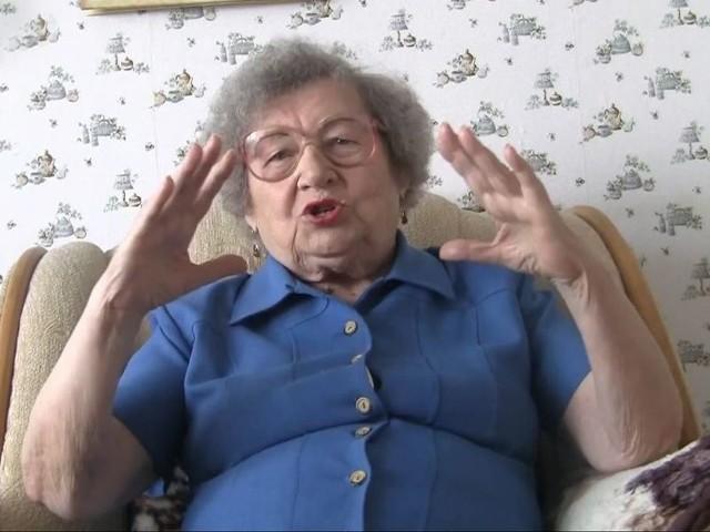 Krystyna Krajewska pragnie, aby nie zapomniano o historii ludzi, którzy przeżyli okupację. Fot. Łukasz Capar