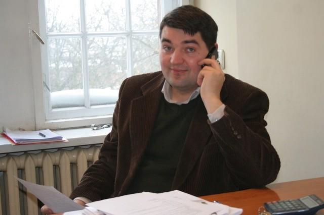 """- """"Vistula"""" chce w tym roku przede wszystkim postawić na wyrobienie sobie marki - mówi Marcin Pilarski, sekretarz LGD"""