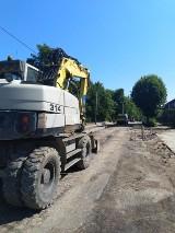 Trwa budowa ulicy Poświętne w Grójcu. Kiedy koniec prac?