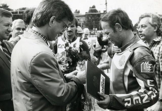 Jerzy Rembas, legenda Stali Gorzów, zakończył karierę żużlowca w 1989 roku.