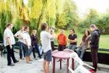 Kruszwica. Młodzi Włosi na spotkaniu Wakacyjnej Szkoły Liderów