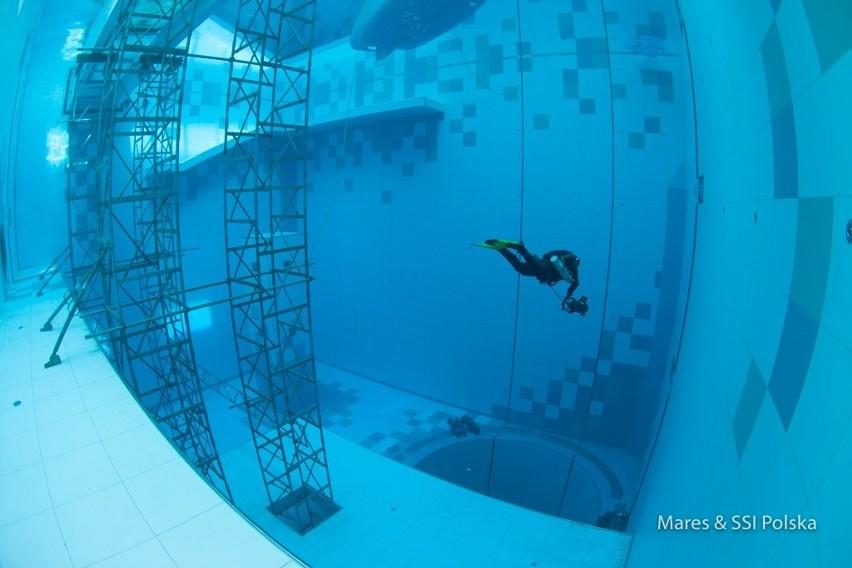 Deepspot - powstały koło Warszawy drugi najgłębszy basen na świecie - od ponad ośmiu miesięcy jest rajem dla pasjonatów nurkowania [ZDJĘCIA]