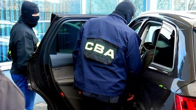 Agenci CBA zatrzymali pięć osób