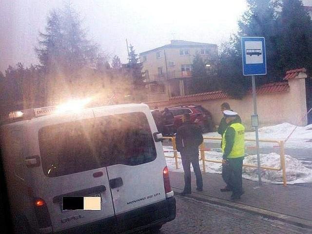 Pijany policjant doprowadził do wypadku na ulicy Raginisa.