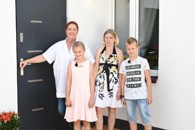 Katarzyna Dowbor pomogła rodzinie z Siedlec.