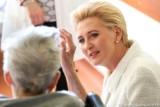 Agata Kornhauser-Duda odwiedziła hospicjum w Częstochowie. Spotkała się z małymi pacjentami i ich rodzicami ZDJĘCIA