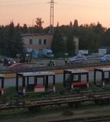 Wypadek na ulicy Rotmistrza Witolda Pileckiego w Bydgoszczy. Motocyklista z obrażeniami w szpitalu
