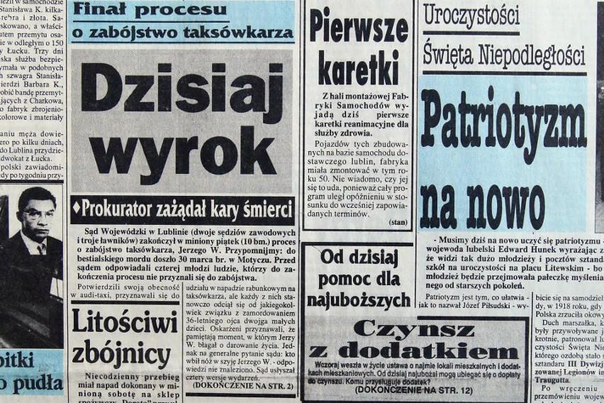 Pod Lublinem znaleziono zwłoki 37-letniego taksówkarza z poderżniętym gardłem. Ta zbrodnia wstrząsnęła mieszkańcami regionu