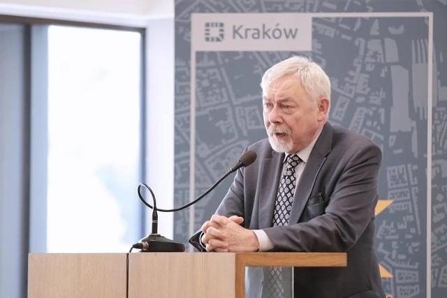 Prezydent Krakowa Jacek Majchrowski